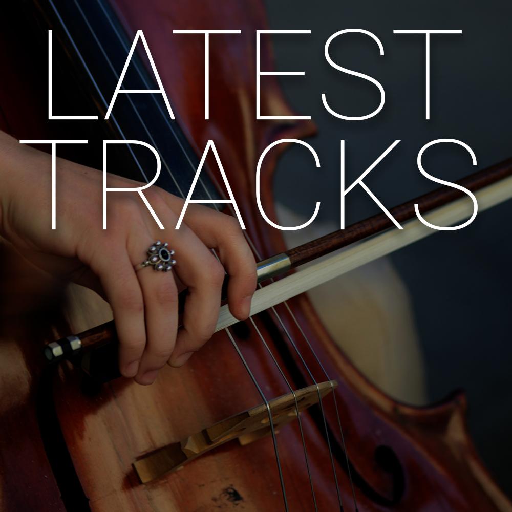 Latest Tracks CD Cover