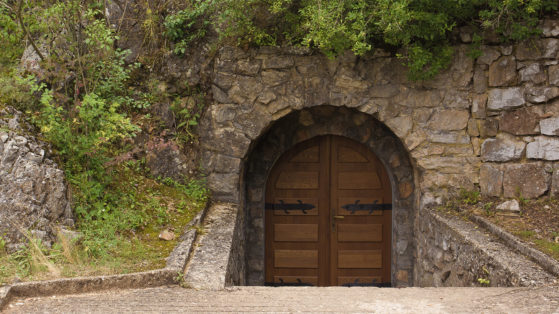 Door to the caverns